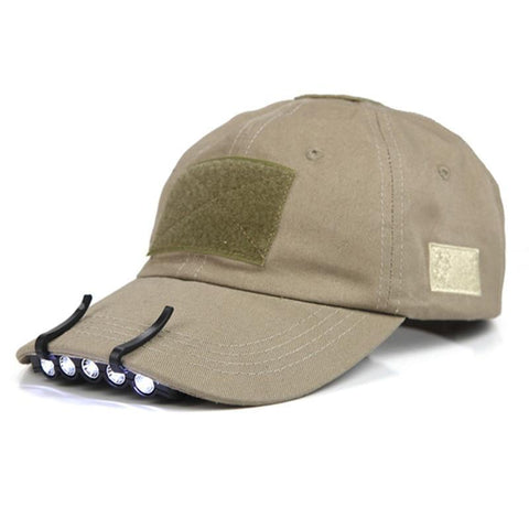 LED Hat Clip-On Headlamp Brim Lights