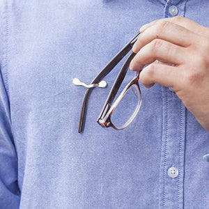 Magnetic Eyeglass Holder Safety Pin Lock