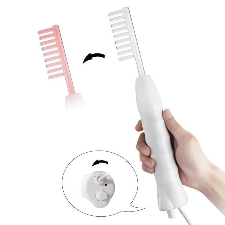 High-Frequency Facial Skin Aesthetics Therapy Wand