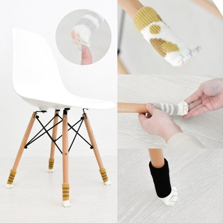 Anti-Skid Chair Leg Protectors Glides Covers