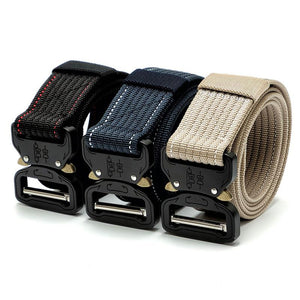 Heavy Duty Tactical Military Battle Nylon Belt