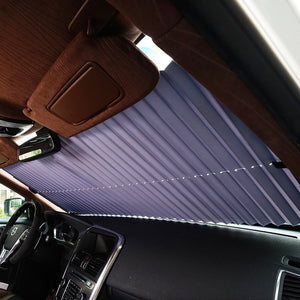 Retractable Blinds Car Windshield Sun Shades