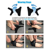 Adjustable Ankle Support Wrap