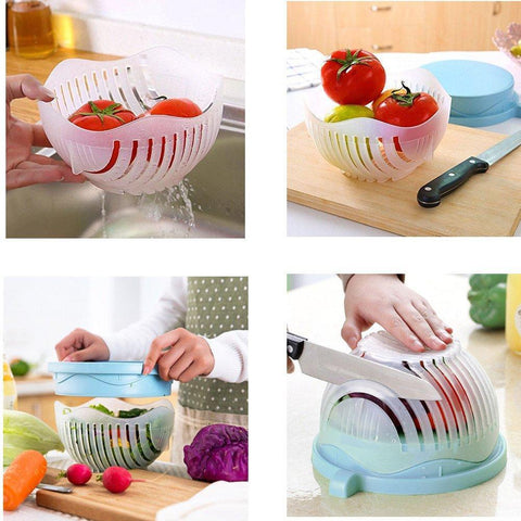 Best Salad Cutter Slicer Bowl