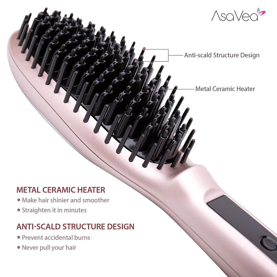 Instant® Hair Straightening Brush