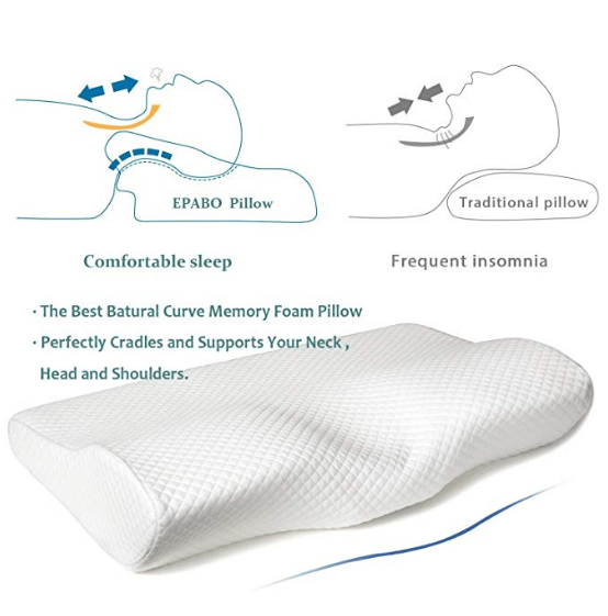 Best Contour Orthopedic Cervical Neck Support Pillow