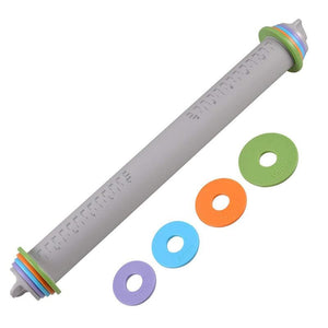 Best Adjustable Depth Silicone Rolling Pin