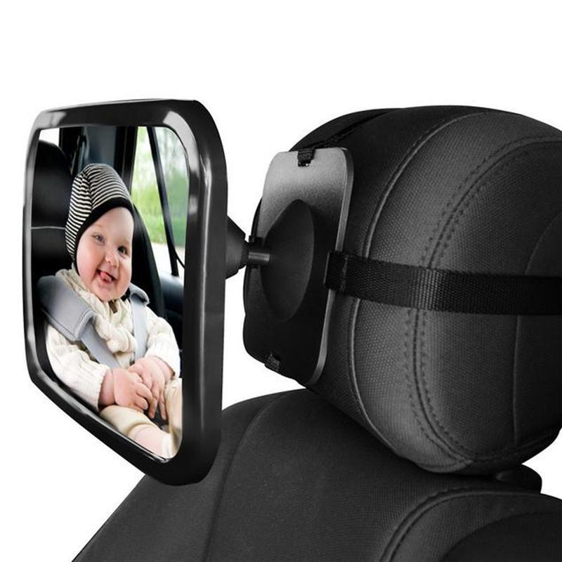 Adjustable Safety Backseat Baby Mirror