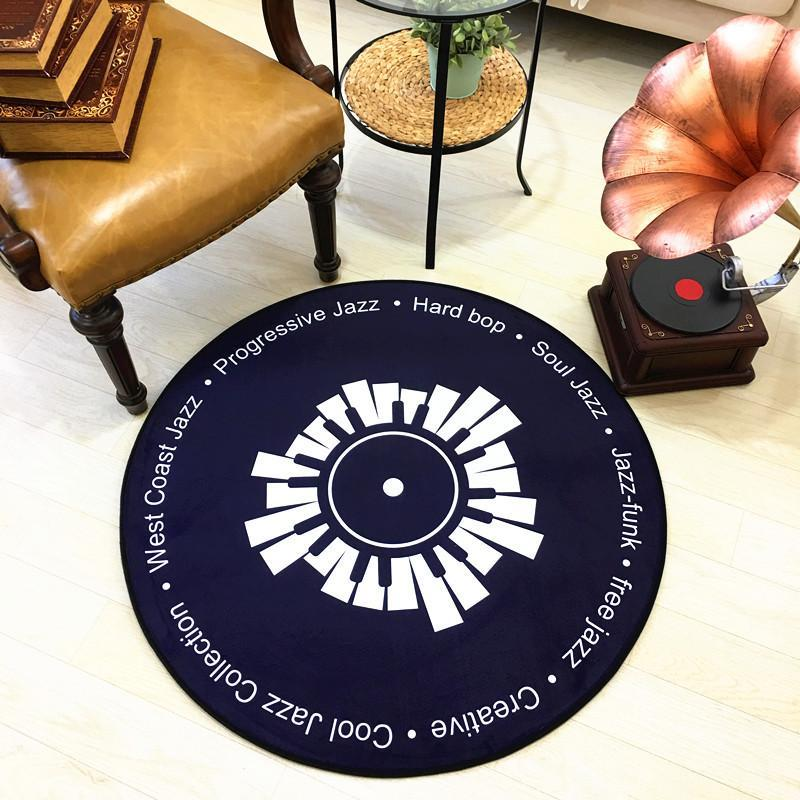 Best Decorative Vinyl Record Cloth PVC Rug
