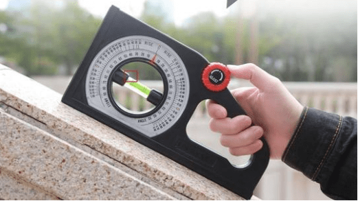 Multifunctional Angle Slope Measuring Inclinometer Bubble Level Gauge Instrument