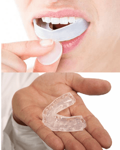 Moldable Silicone Dental Mouth Guards 4pcs