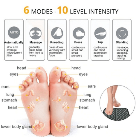 Best Electric EMS Foot Massage Pad