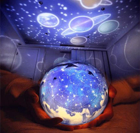 LED Space Night Light Projector