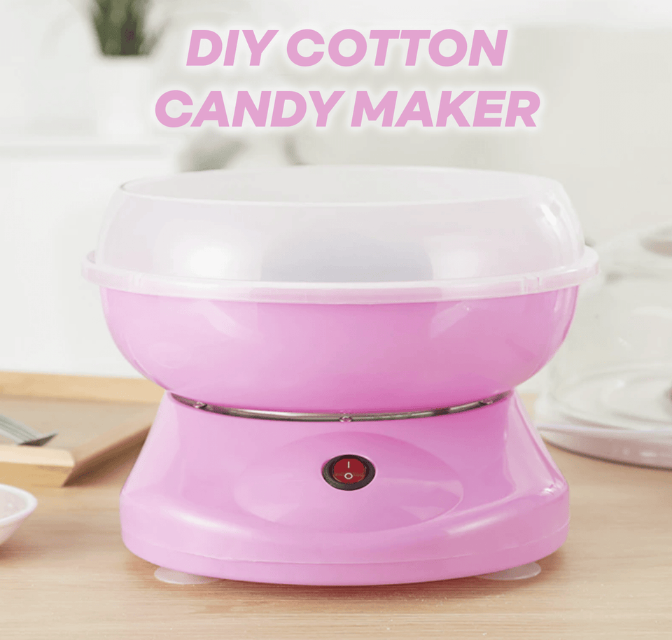 DIY Mini Cotton Candy Maker