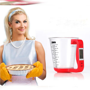 LCD Digital Electronic Liquid Measuring Scale Cup