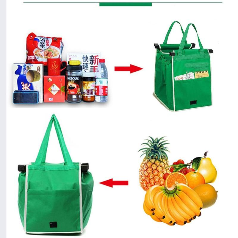 Large Eco-Friendly Reusable Shopping Tote Bag