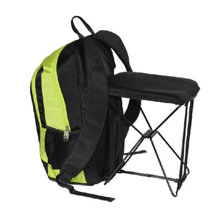 2 in 1 Lightweight Backpack Foldable Stool Chair