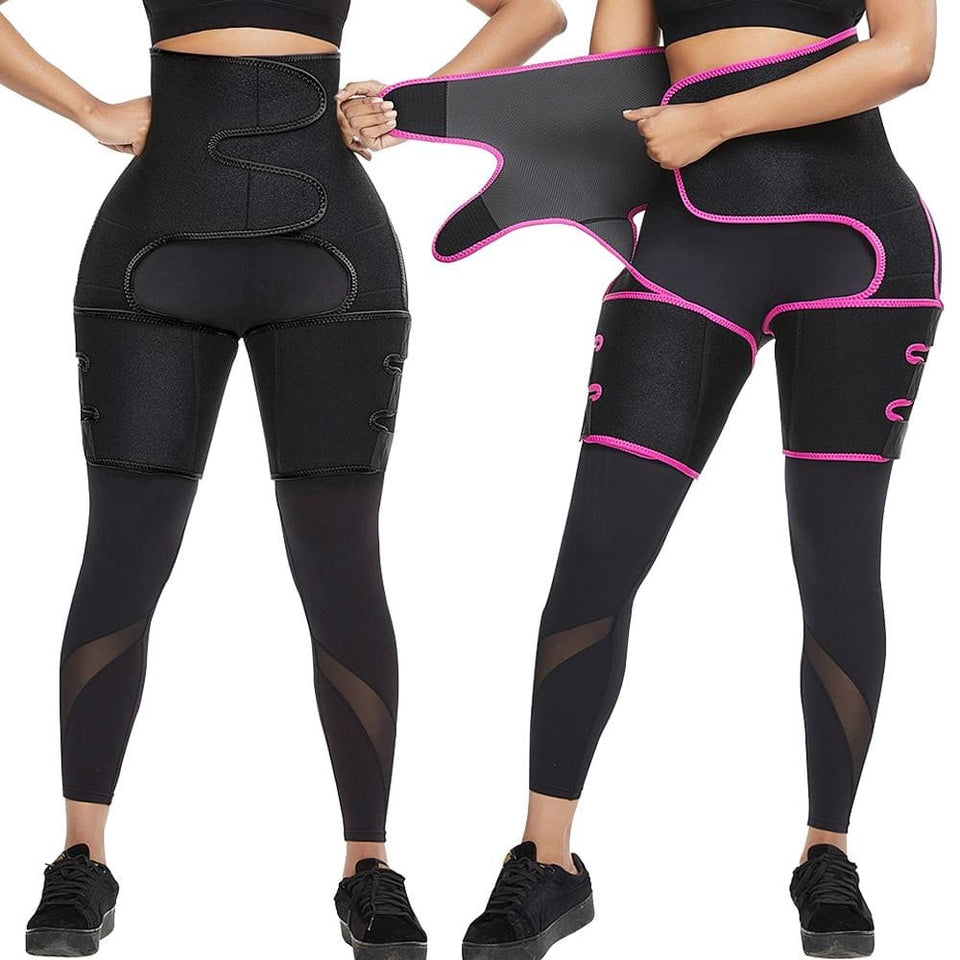 Best 3 in 1 Neoprene Waist Body Belt Thigh Butt Trimmer