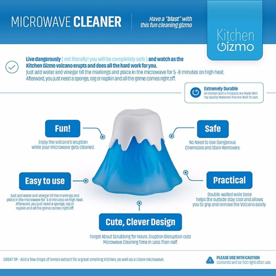 Volcano Microwave Water Steam Cleaner