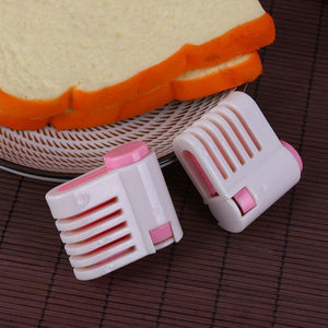 2pcs Best DIY Knife Clamp Perfect Cake Layer Slicer