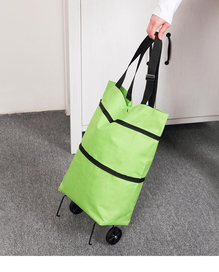 Reusable Folding Trolley Collapsible Shopping Bag