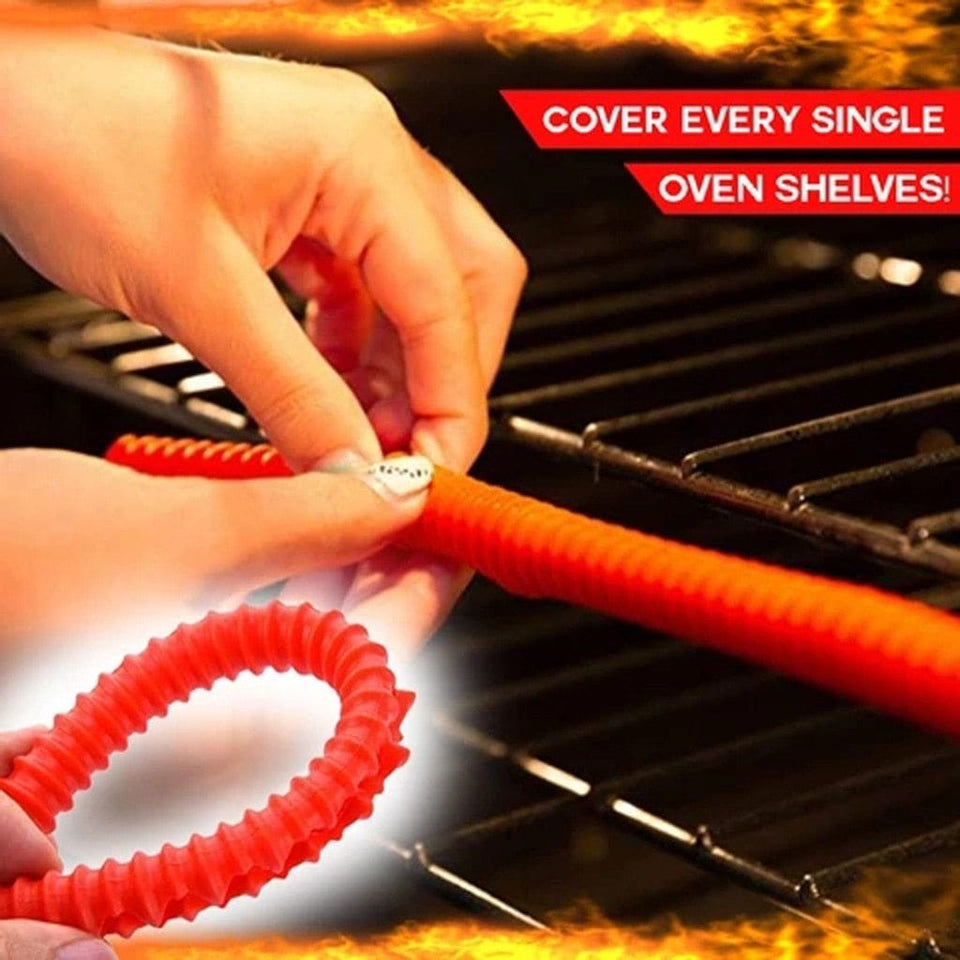 Anti-Burn Safety Oven Rack Guards