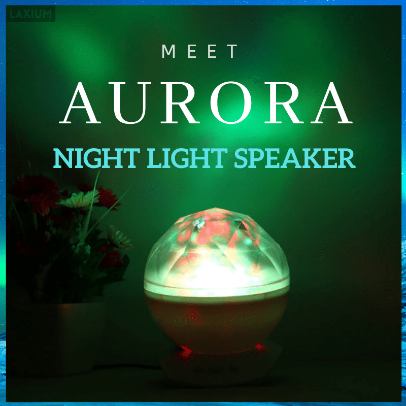 Aurora Night Light Sleep Speaker Projector