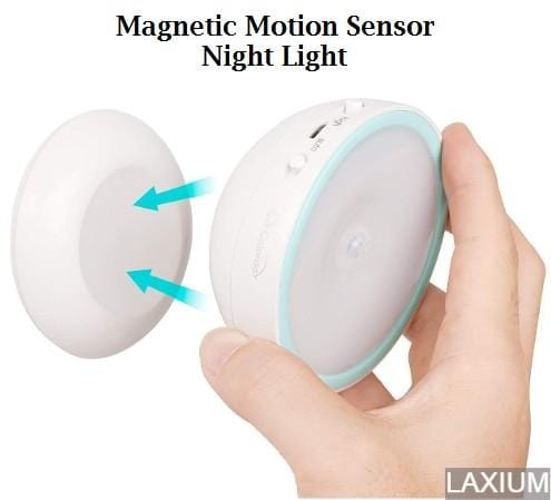 360 Magnetic LED Motion-Sensing Detachable Night Light