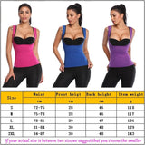 Thermal Sauna Vest Body Shaper Suit