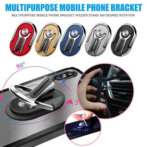 Multipurpose Mobile Phone Bracket Ring Holder