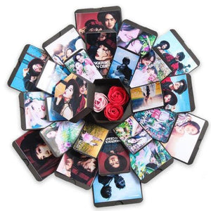 Hexagon DIY Photo Explosion Gift Box
