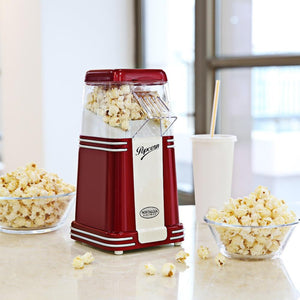 Best Nostalgia Vintage Hot Air Popcorn Machine