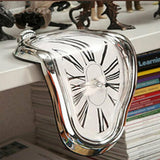 Distorted Melting Dali Clock