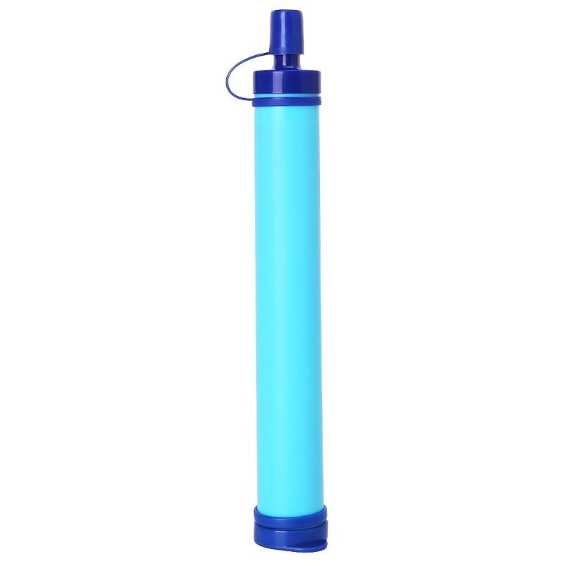 Personal Outdoor Survival Water Filtration System Purifier Straw