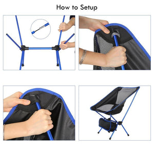 Best Lightweight Portable Outdoor Folding Collapsible Chair