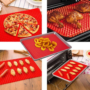 Pyramid Non-Stick Silicone Baking Mat Sheet