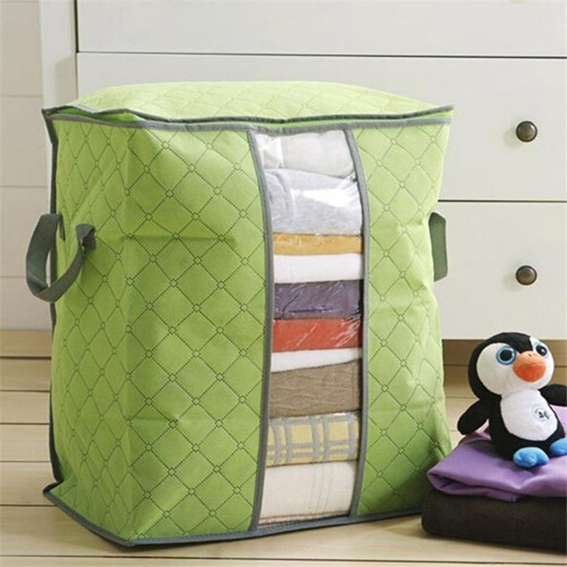 Bamboo Charcoal Fabric Storage Bags