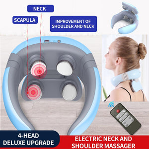 Best Electric Heated Pulse Neck Massager