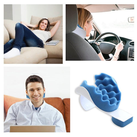Best Neck Traction Support Chiropractic Pillow