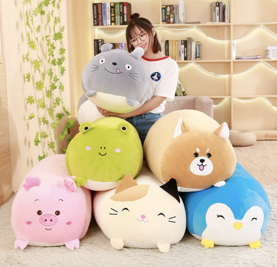 Chubby Animal Pillows
