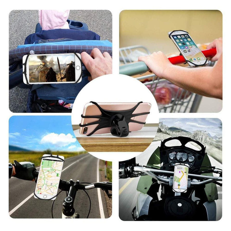 Best 360 Adjustable Strap-On Bike Phone Mount