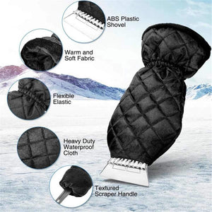 Best Ice Car Scraper Mitt Gloves