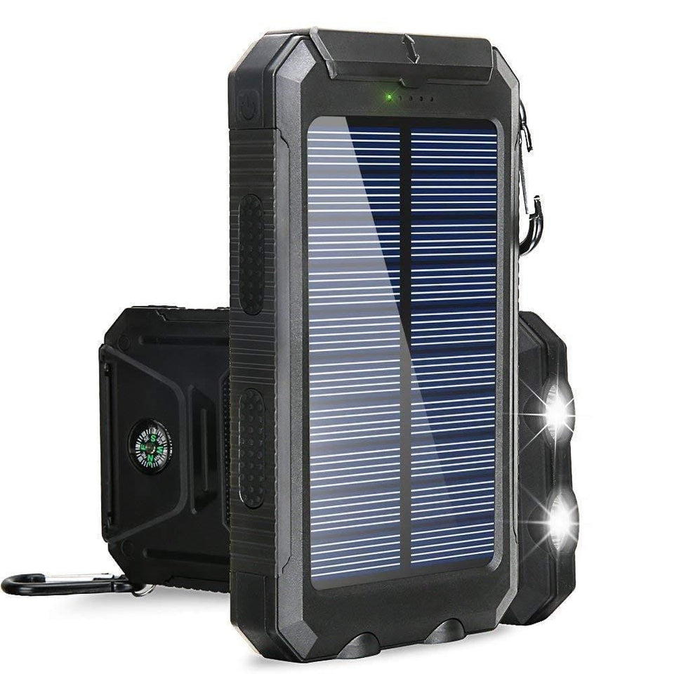 Best LED Emergency Solar Power Bank
