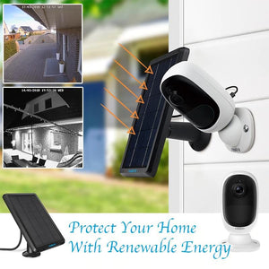 Solar Powered Wireless Surveillance Camera