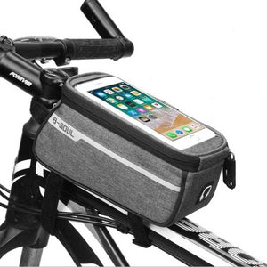 Waterproof Phone Mount Storage Bicycle Bag