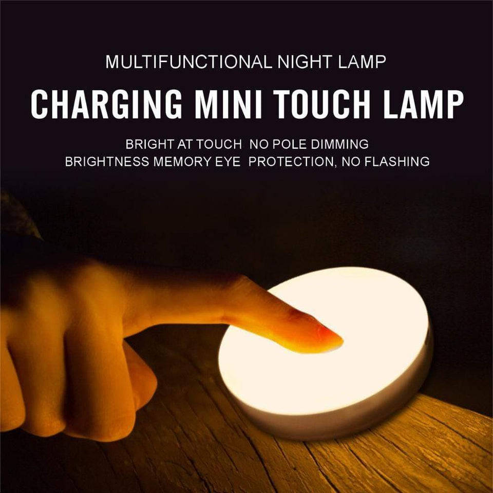 Portable Magnetic Rechargeable Touch Lamp