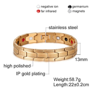 Magnetic Therapy Energy Bracelet (Luxury Edition)