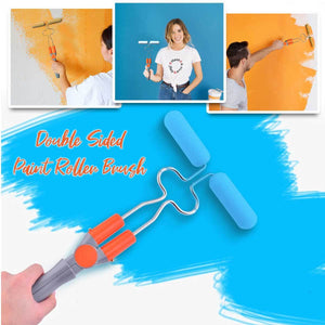 Double-Sided Speed Paint Roller