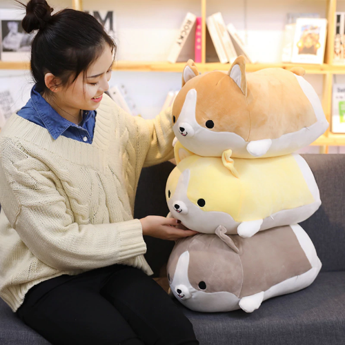 Chubby Corgi Pillows