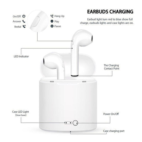 Wireless Bluetooth Earbuds Airpods Earpods